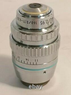 Nikon Plan Apo 40x Microscope Objective, Planapochromat Mikroskop Objektiv
