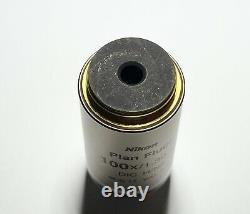 Nikon Plan FLUOR 100x /1.3 Oil DIC H/N2 CFI Eclipse Microscope Objective