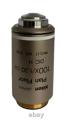 Nikon Plan Fluor 100x 1.3 Oil Microscope Objective
