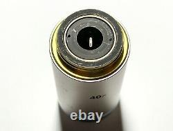 Nikon Plan Fluor 40x /. 75 /0.17 DIC M/N2 Microscope Objective