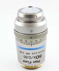 Nikon Plan Fluor 60x 0.85 0.11-0.23 Wd 0.30 Microscope Objective Eclipse I