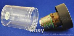 Nikon Plan Fluor ELWD 20x /0.45 /0-2 Ph1 DM Phase Eclipse Microscope Objective