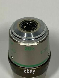 Nikon Plan Fluor ELWD 20x /0.45 Microscope Objective Ph1 DM /0-2 WD 7.4 DIC L