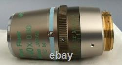 Nikon Plan Fluor ELWD 40x /0,60 DIC M Ph2 DM Eclipse Microscope Objective
