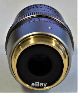 Nikon Plan Fluor Elwd 20x/0.45 DIC L /0-2 Wd 7.4 M25 Microscope Objective