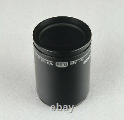 Nikon SMZ 800 Microscope Objective Plan Apo 0.5x WD 123, Made in Japan