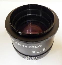 Nikon Stereo Microscope Objective Lens Plan Ergo 1X MMH31000