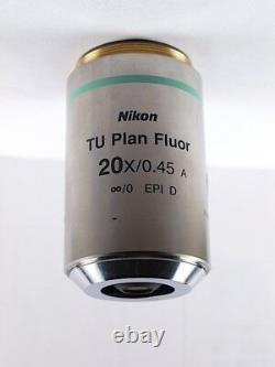 Nikon TU Plan Fluor 20x EPI D BD L & LV Series Industrial Microscope Objective