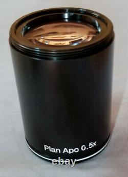Plan Apo 0.5X WD126 Objective for Nikon SMZ-U ZMS800 SMZ1000 stereo microscope
