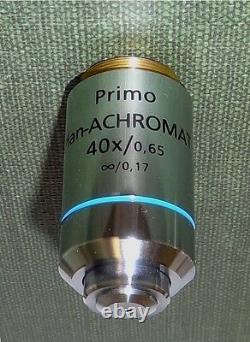 Zeiss Microscope 40X Plan Achromat Objective Infinity Olympus Nikon Leitz